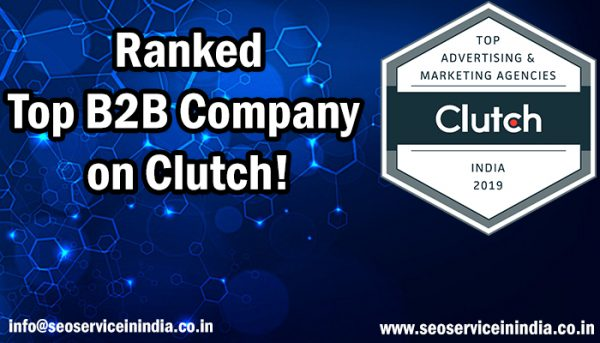 SEO Service In India Is Named a Top B2B Company on Clutch